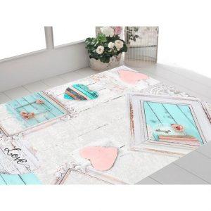 Seroni Frame Chenille Carpet