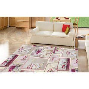 Seroni Lavinya Digital Printing Patchwork Carpet