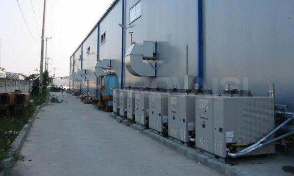 Çukurova isı industrial systems gas fuelled hot air generators robur series
