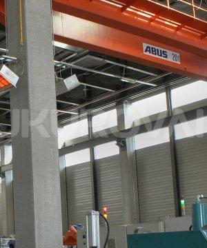 Çukurova isı industrial systems open flame radiant heaters goldsun cph