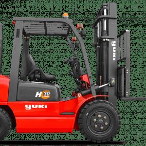 Yuki 3 Ton Capacity Diesel (H Series) Forklifts CPCD30-33-H
