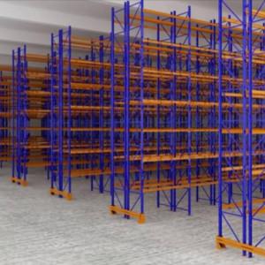 Timtas Warehouse Back to Back Rack