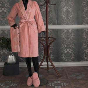 Homestar Luxury Quality Bathrobe Towel Women Lady Sets