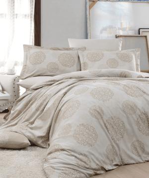 Nazenin home textile jacquard satin duvet sets