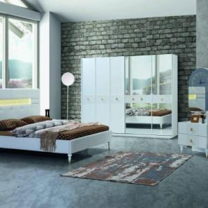 Şiptar Modern Alba Bedroom Furniture Set