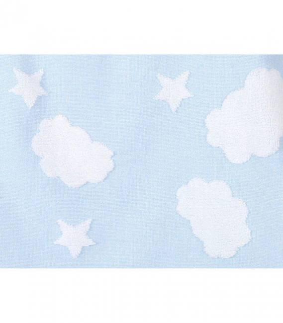 Irya Textile Cloud Baby Swaddle Pink Blue