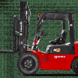 Yuki 4 Ton Capacity Diesel (H Series) Forklifts CPCD40-33-H