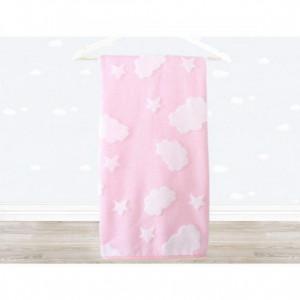 Irya Textile Cloud Baby Towel Pink