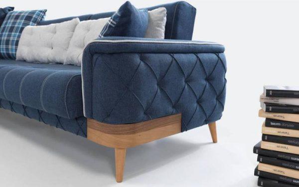 Şipstar modern cotton corner sofa furniture set