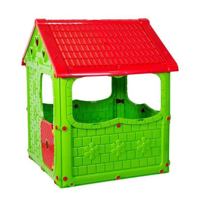Simsek toys children's green game house
