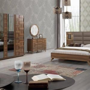 Şiptar Modern Lotus Bedroom Furniture Set
