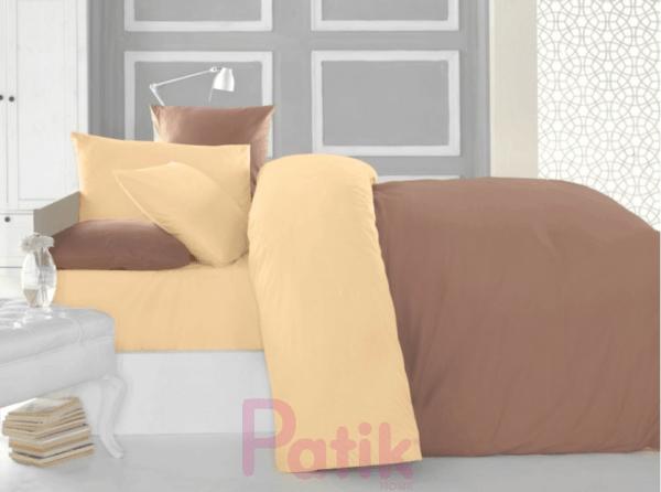 Patik home ranforce coffee binding linens set