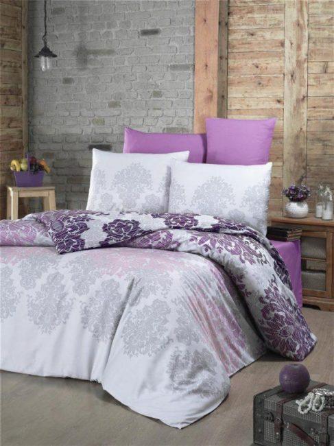 Victoria textile saten deluxe set