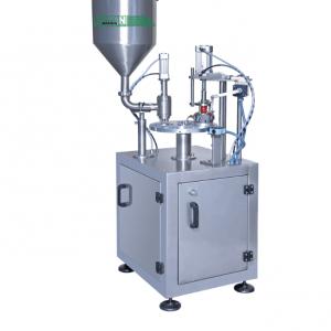 Dizayn Manual Filling Machine for Yogurt Ayran Milk Water Kefir Cheese Fruit Juices Jam Honey