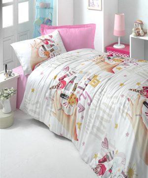 Victoria textile cotton youth ranforce linens set