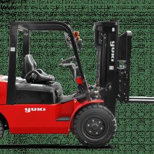 Yuki 4 Ton Lifting Capacity Diesel H Triplex Forklift CPCD40-45-H