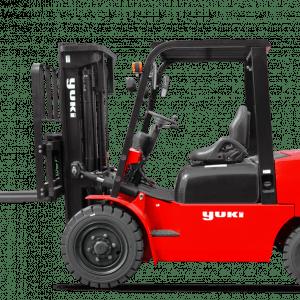 Yuki 3 Ton Lifting Capacity Diesel H Triplex Forklift CPCD30-45-H