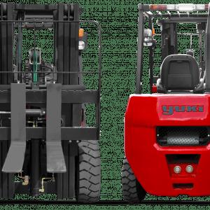 Yuki 5 Ton Lifting Capacity Diesel H Triplex Forklift CPCD50-45-H