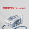 Vortex q-switch tattoo wiping device