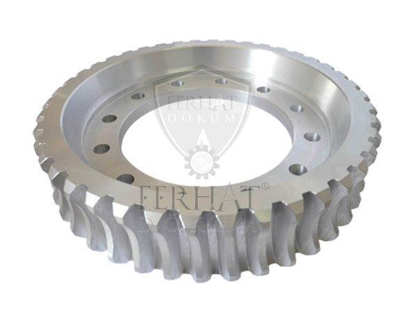 Aluminum gear for caterpillar earthmoving machinery fd-d018 7f6269