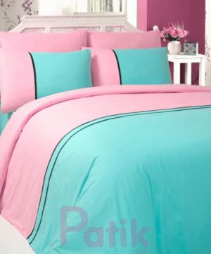 Patik home ranforce mint binding linens set