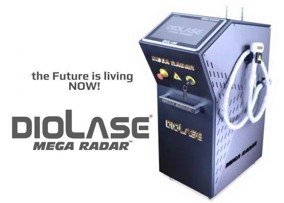 Diolase mega radar epilation machine laser professional permanent hair removal epilator