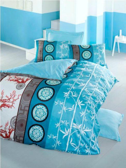 Duvet Cover Victoria Textile Saten Deluxe Set