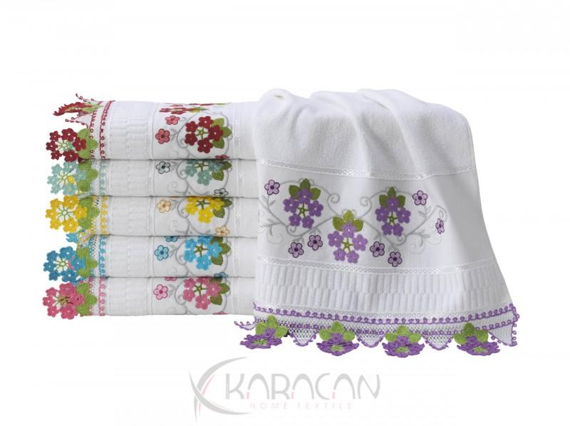 Karacan home textile embroidery hand towels