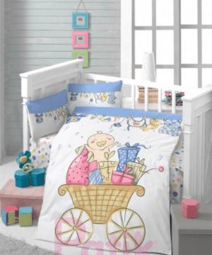 Patik home panel printed linens set