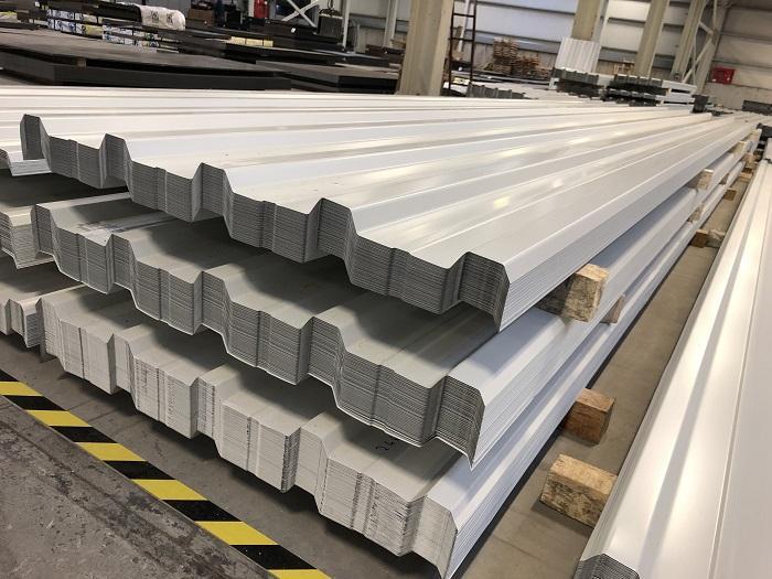 Ak Birlik Trapezoidal Galvanized Steel Aluminum Painted