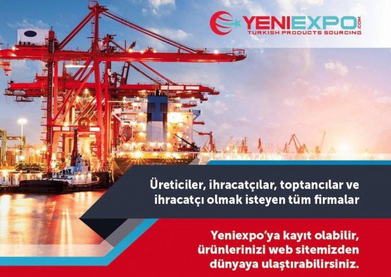 Türkiye'nin büyüyen ihracat platformu bugün katılın – yeniexpo