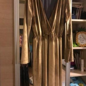 Fashion by Didem Unlu Velvet Dress Women Clothes