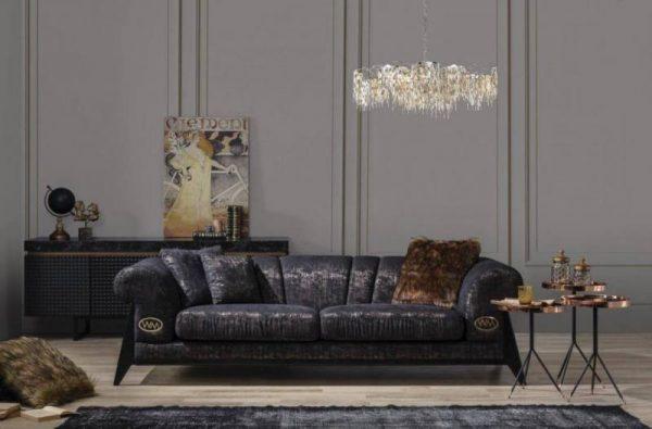 Newmood furniture kamelya stylish sofa set