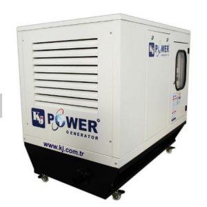 KJ Power 7 to 2500 KVA Standard or Super Silent Canopies Diesel Electric Power Generators