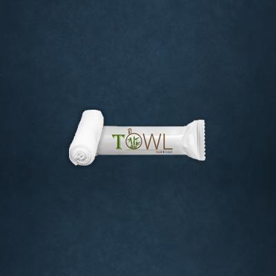 Towl alacarte restaurant roll towel wet wipe