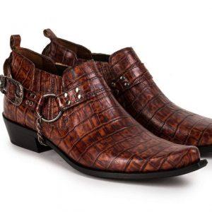 Etor Cowboy Western Genuine Leathe
