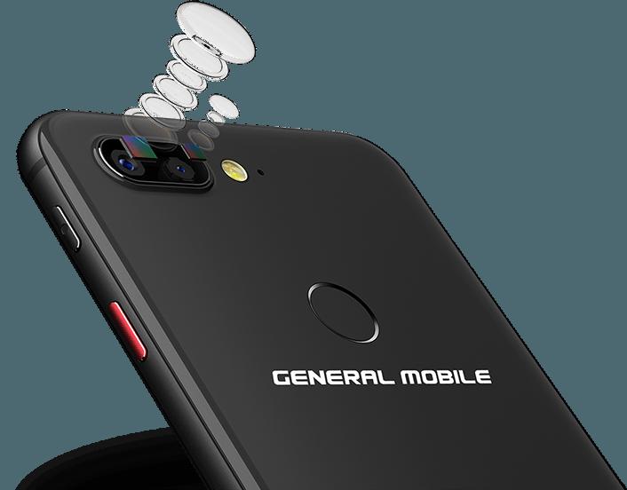 General mobile gm 9 pro smartphone 4k 12+8 mp lte / gsm / umts