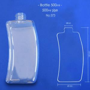 Tozbey Plastic 500 ml Pet Bottles