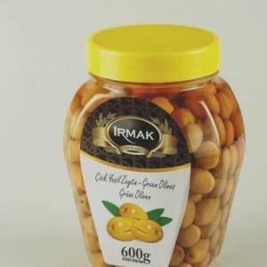Irmak Green Table Pickled Olive 600 g in Plastic Jar