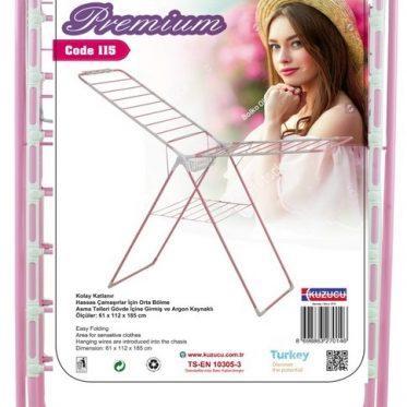 Kuzucu lavella belinay premium floor standing foldable laundry dryer hanger 115