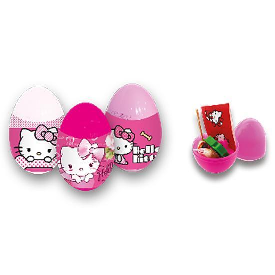 Lolliboni candy toys hello kitty surprise egg