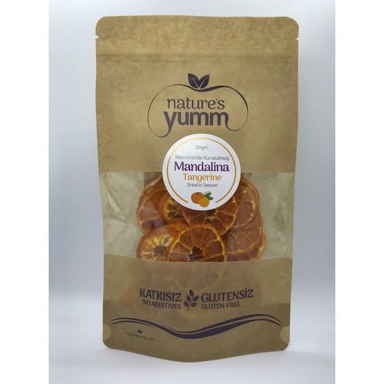 Natures yumm dried fruit tangerine 50 gr
