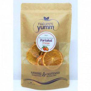 Natures Yumm Dried Fruit Orange 50 Gr