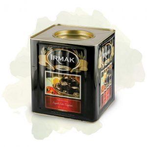 Irmak Sele Black Table Pickled Olive Mega XL 10 Kg Can