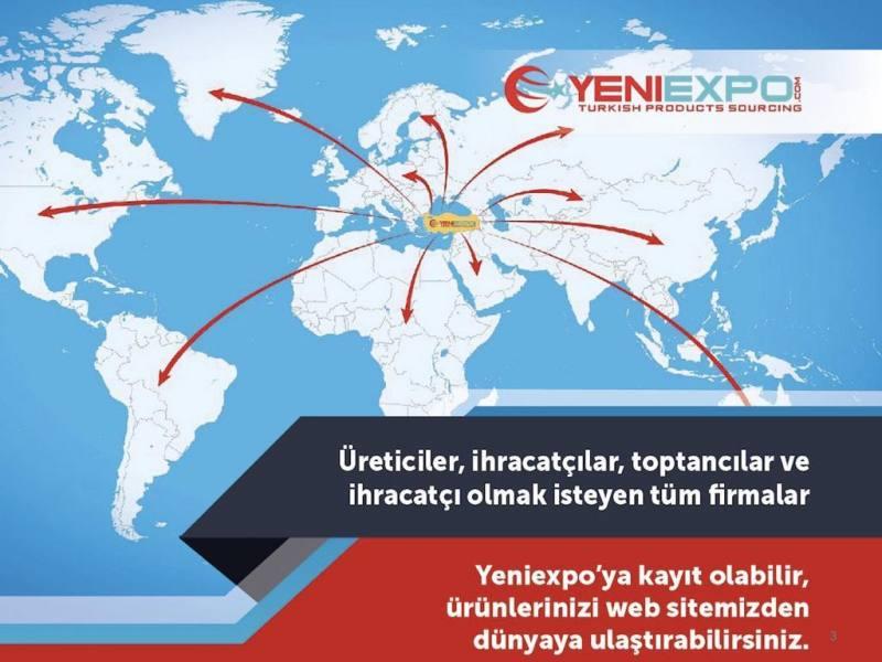 Yeniexpo'ya katılmak sizi internette İhracat erişiminde büyütecek.