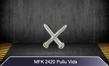Mfk plastik mfk2420 road traffic safety hex head anchor screws