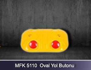 MFK Plastik MFK5110 Oval Road Stud