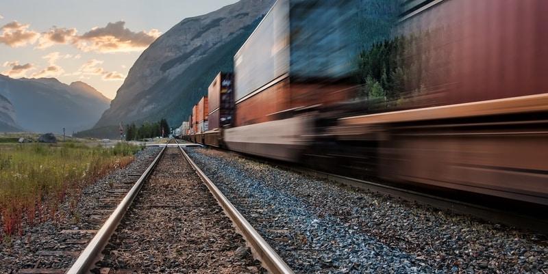 Rail train cargo shipping express turkey