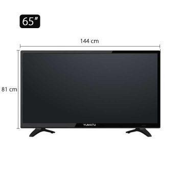 Yumatu 65 inch 4k ultra hd android smart led tv