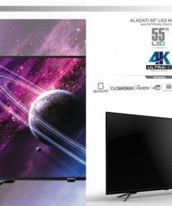Sunny sn55leda88 55 in 4k ultra hd satellite smart led tv television